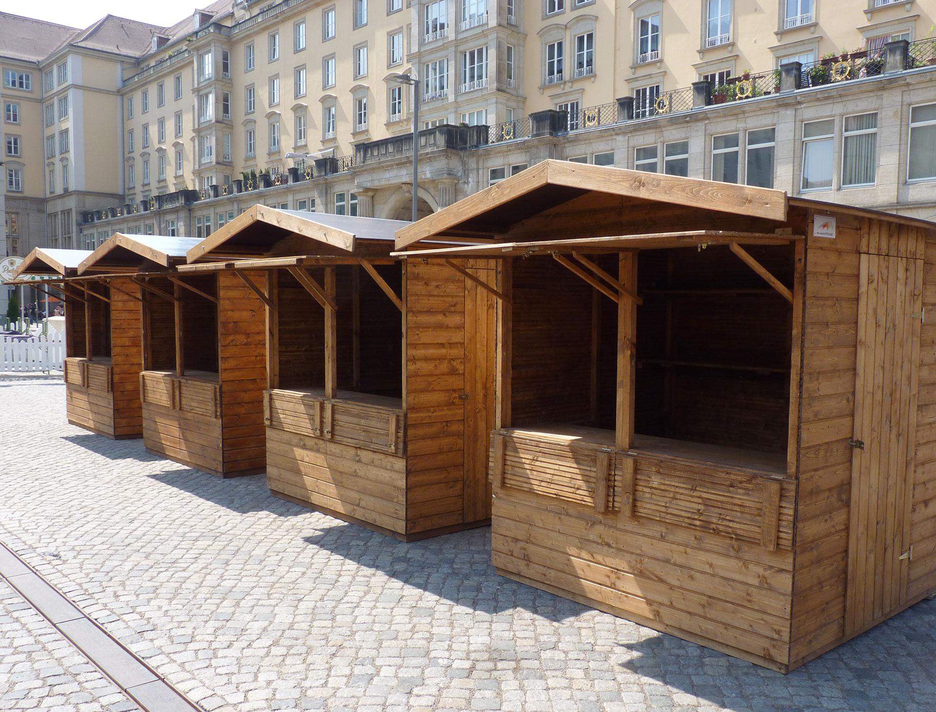 Vermietung Markthütten