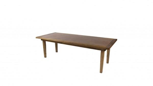 rustikaler Holztisch 2,45 x 1,01m