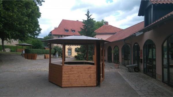 Pavillon - 6-Eck- Verkaufsstand - Markthütte 3m