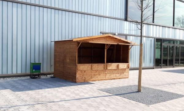 Verkaufsstand - Markthütte - 4,00m x 2,50m