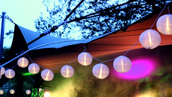 Lampionlichterkette