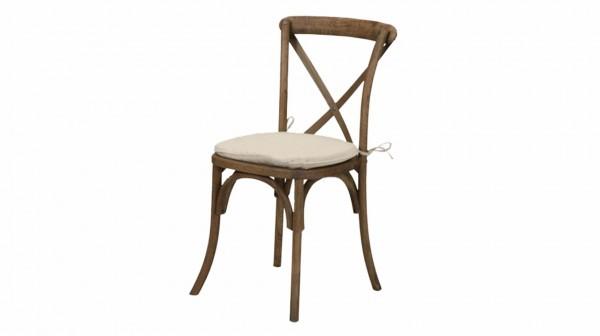 Holzstuhl Landhaus - Crossback Stuhl